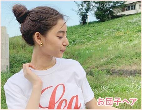 新木優子の髪色(トーン)や髪型巻き方がかわいい!オーダー方法
