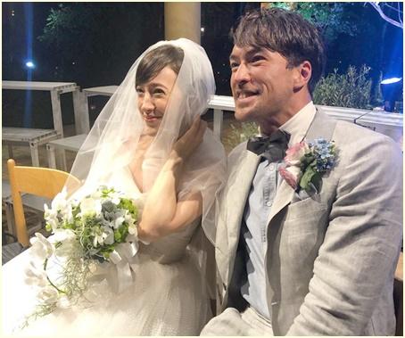 滝川 クリステル 結婚 式